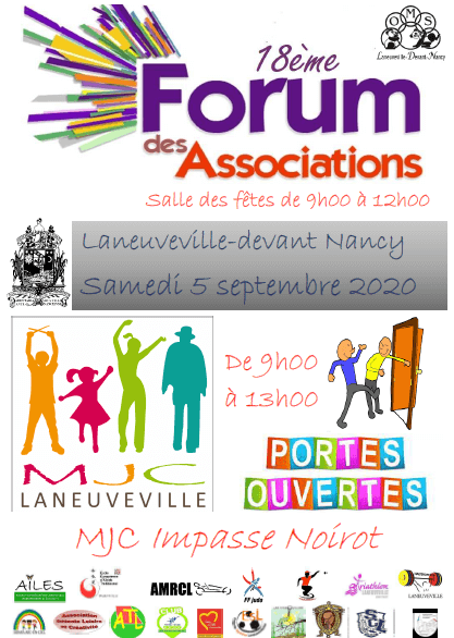 Savate Laneuveville forum-assos-2020 Forum des Associations 2020