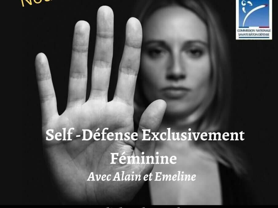 Nouveauté cette saison : self défense 100% féminine !